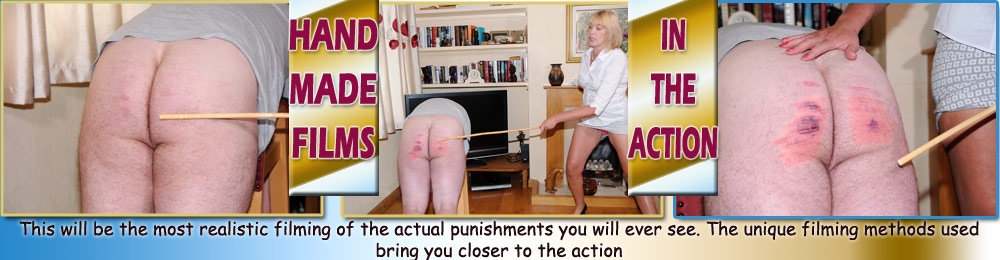 Nigel gets a cold caning