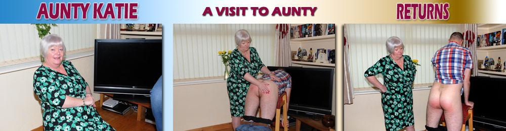 No aunty spank spank whack whack not clear
